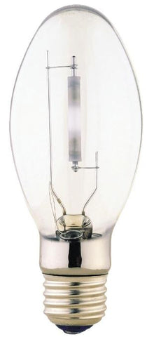 100 Watt ED17 HID High Pressure Sodium Light Bulb, 2100K Clear E26 (Medium) Base, Box