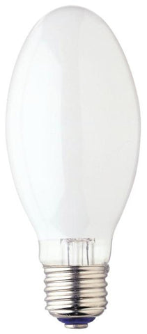 50 Watt E17 HID Mercury Vapor Light Bulb, 4000K White E26 (Medium) Base, Box