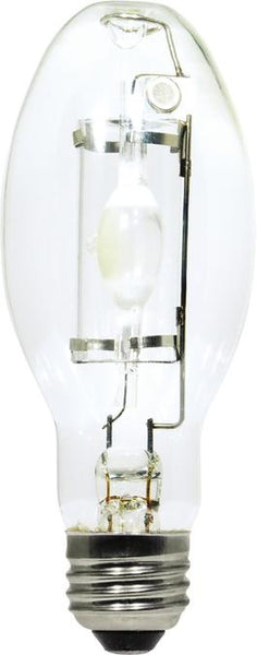 50 Watt ED17 HID Protected Metal Halide Light Bulb, 3000K Clear E26 (Medium) Base, Box - Lighting Getz
