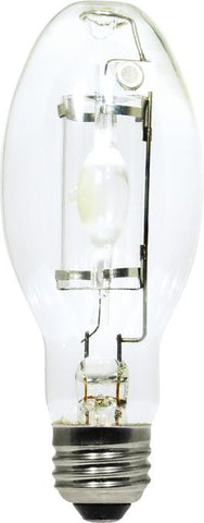 50 Watt ED17 HID Protected Metal Halide Light Bulb, 3000K Clear E26 (Medium) Base, Box