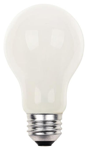 72 Watt A19 Eco-Halogen Light Bulb, 3000K Soft White E26 (Medium) Base, Box (2-Pack)