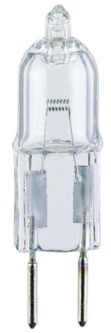 20 Watt T3 Clear JC Halogen Low Voltage Light Bulb, 2950K G4 Base, 12 Volt, Box