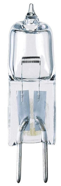 50 Watt T3 Clear JC Halogen Low Voltage Light Bulb, 3050K GY6.35 Base, 12 Volt, Box - Lighting Getz