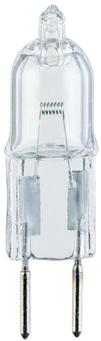 10 Watt T3 Clear JC Halogen Low Voltage Light Bulb, 2900K G4 Base, 12 Volt, Box