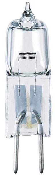 50 Watt T4 JC Halogen Low Voltage Light Bulb, 3050K Clear GY6.35 Base, 12 Volt, Card - Lighting Getz