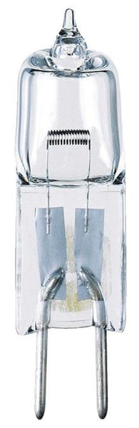 20 Watt T4 JC Halogen Low Voltage Light Bulb, 2950K Clear GY6.35 Base, 12 Volt, Card - Lighting Getz