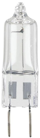 20 Watt T4 JCD Halogen Xenon Light Bulb, 2700K Clear G8 Base, 120 Volt, Card (2-Pack)