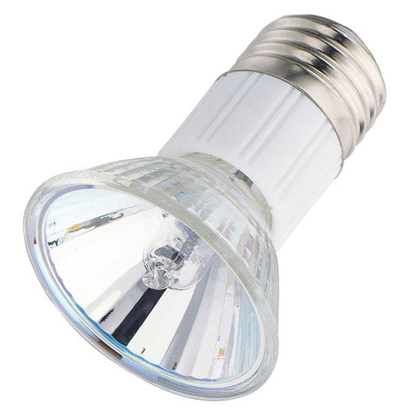 50 Watt JDR Halogen Flood Light Bulb, 2800K Clear Lens E26 (Medium) Base, 120 Volt, Card - Lighting Getz