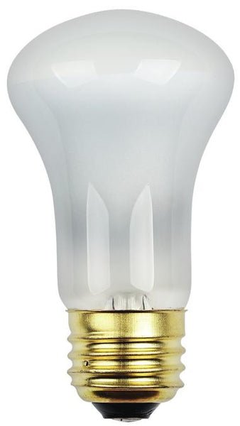 40 Watt R16 Flood Halogen Light Bulb, 2700K Frost E26 (Medium) Base, 120 Volt, Hanging Box - Lighting Getz