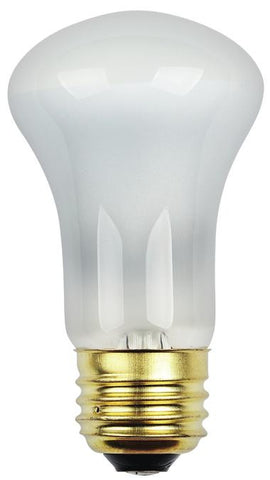 40 Watt R16 Flood Halogen Light Bulb, 2700K Frost E26 (Medium) Base, 120 Volt, Hanging Box