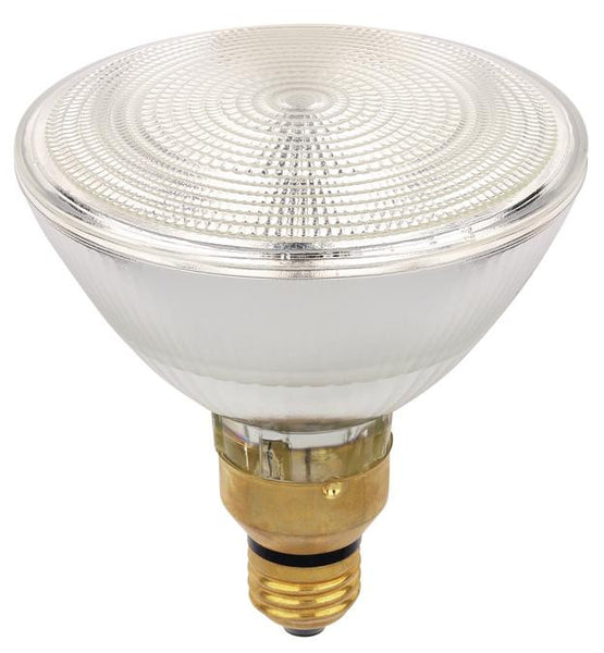 60 Watt PAR38 Eco-PAR Plus Halogen Flood Light Bulb, 2850K E26 (Medium) Base, 120 Volt, Box - Lighting Getz