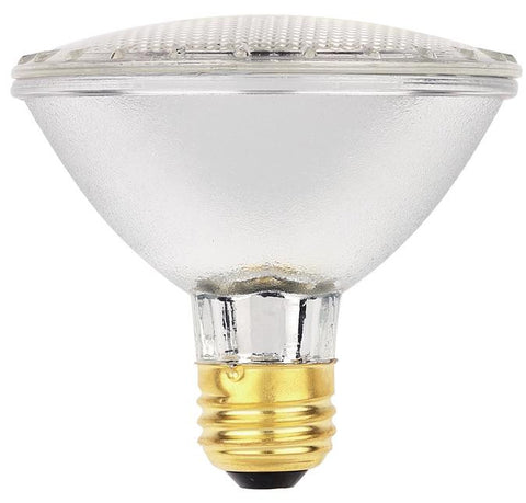 60 Watt PAR30 Eco-PAR Halogen Flood Light Bulb, 2900K E26 (Medium) Base, 120 Volt, Box