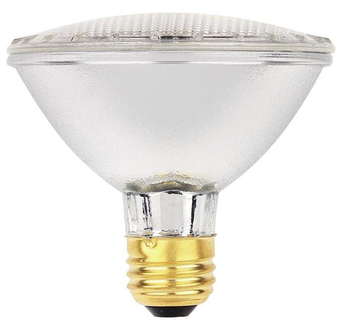 38 Watt PAR30 Eco-PAR Halogen Flood Light Bulb, 2800K E26 (Medium) Base, 120 Volt, Box