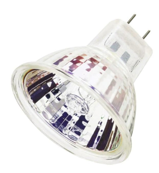 45 Watt MR16 Halogen Flood Light Bulb, 3050K GU7.9/8.0 Base, 120 Volt, Box - Lighting Getz