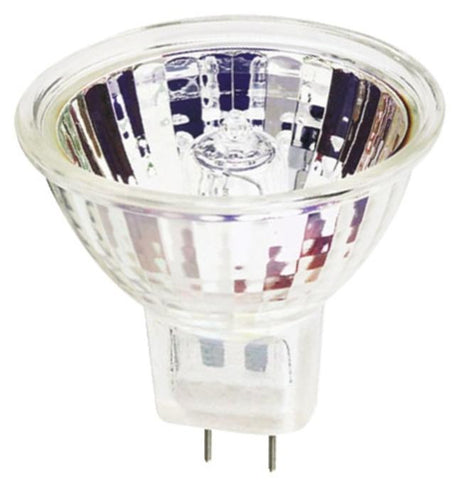 45 Watt MR16 Halogen Flood Light Bulb, 3050K GU7.9/8.0 Base, 120 Volt, Box