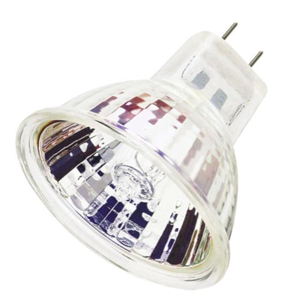 45 Watt MR16 Halogen Flood Light Bulb, 3050K GU7.9/8.0 Base, 120 Volt, Card - Lighting Getz