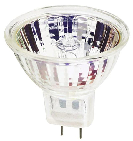 45 Watt MR16 Halogen Flood Light Bulb, 3050K GU7.9/8.0 Base, 120 Volt, Card