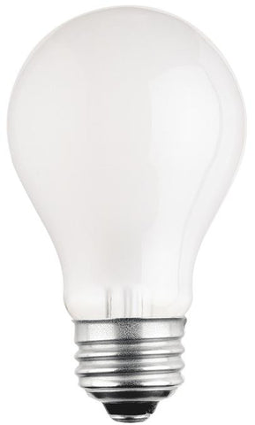 25 Watt A19 Incandescent Low Voltage Light Bulb, 2700K Frost E26 (Medium) Base, 12 Volt, Box