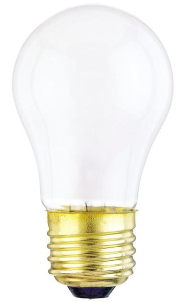 40 Watt A15 Incandescent Light Bulb, 2700K Frost E26 (Medium) Base, 120 Volt, Box (2-Pack) - Lighting Getz