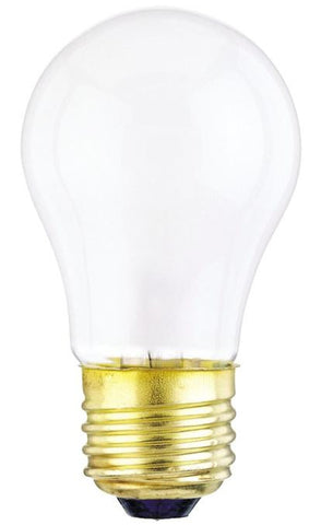 40 Watt A15 Incandescent Light Bulb, 2700K Frost E26 (Medium) Base, 120 Volt, Box (2-Pack)