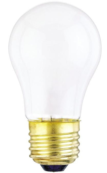 40 Watt A15 Incandescent Light Bulb, 2700K Frost E26 (Medium) Base, 130 Volt, Box (2-Pack) - Lighting Getz