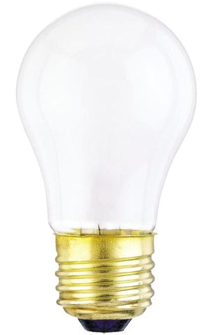 40 Watt A15 Incandescent Light Bulb, 2700K Frost E26 (Medium) Base, 130 Volt, Box (2-Pack)