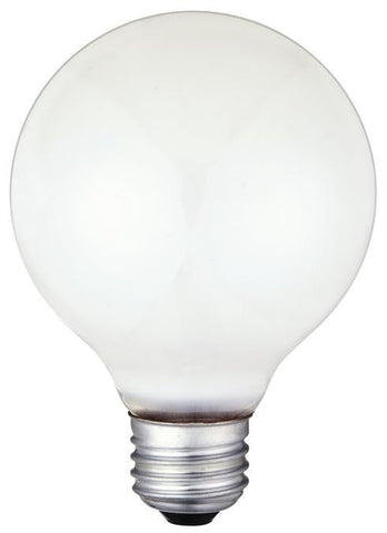 60 Watt G30 Incandescent Vibration Resistant Light Bulb, 2700K White E26 (Medium) Base, 120 Volt, Box