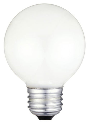 60 Watt G19 1/2 Incandescent Vibration Resistant Light Bulb, 2700K White E26 (Medium) Base, 120 Volt, Box