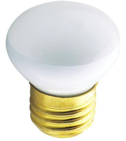 25 Watt R14 Incandescent Flood Light Bulb, 2700K E26 (Medium) Base, 120 Volt, Hanging Box