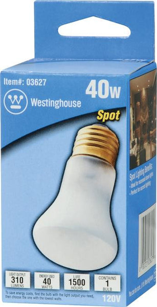 40 Watt R16 Incandescent Spot Light Bulb, 2700K E26 (Medium) Base, Hanging Box - Lighting Getz