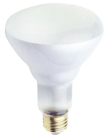 50 Watt BR30 Incandescent Flood Light Bulb, 2700K E26 (Medium) Base, Box
