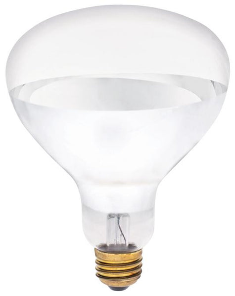 250 Watt R40 Incandescent Light Bulb, 2400K Clear Infrared Heat Flood E26 (Medium) Base, Box - Lighting Getz