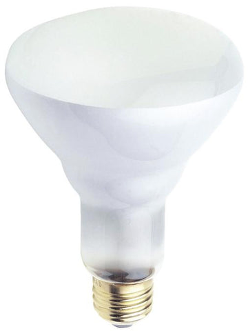 65 Watt BR30 Incandescent Flood Light Bulb, 2700K E26 (Medium) Base, 130 Volt, Box (12-Pack)