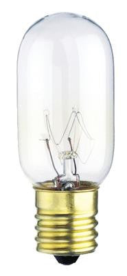25 Watt T8 Incandescent Light Bulb 2700K Clear E17 (Intermediate) Base, 120 Volt, Card