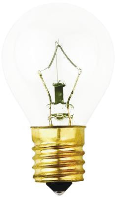 40 Watt S11 Incandescent Light Bulb, 2700K Clear E17 (Intermediate) Base, 120 Volt, Card