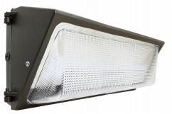 LED Wallpack 127 Watt  10,500LM, 5000K CW, DARK BRONZE FINISH, UL, DLC - Lighting Getz