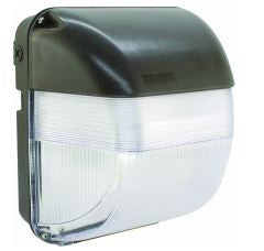 LED Wallpack 50W, 4489LM, 5000K CW, DARK BRONZE FINISH, UL - Lighting Getz
