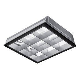 2x2 Lay-in 2 U Light 32W Parabolic Fixture