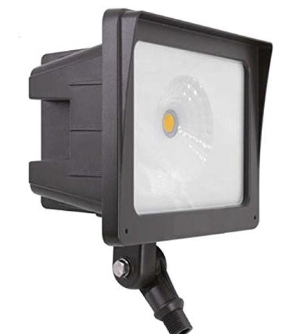 LED Flood Light Fixture, 45 Watt Cool White - 5000K UL & DLC Listed