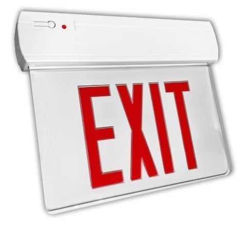 LED Edgelit Economy Exit Sign