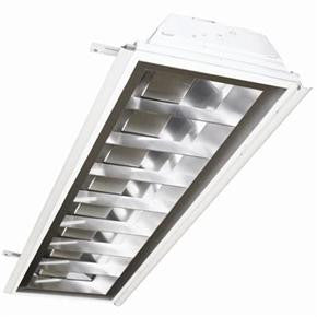 1X4 Recessed Flanged Lay-In, 120V, 20 Gauge - Lighting Getz