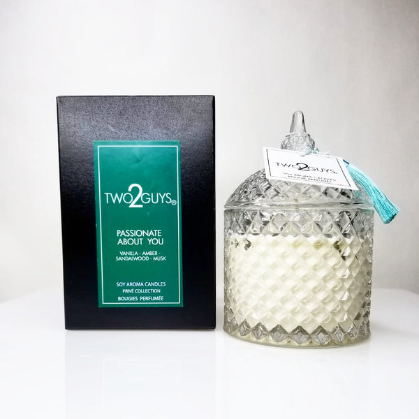 PASSIONATE ABOUT YOU  VEGAN CANDLE  12 OZ