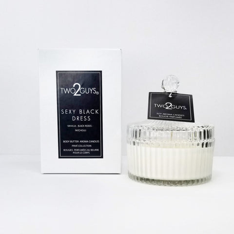 SEXY BLACK DRESS Vegan Candle