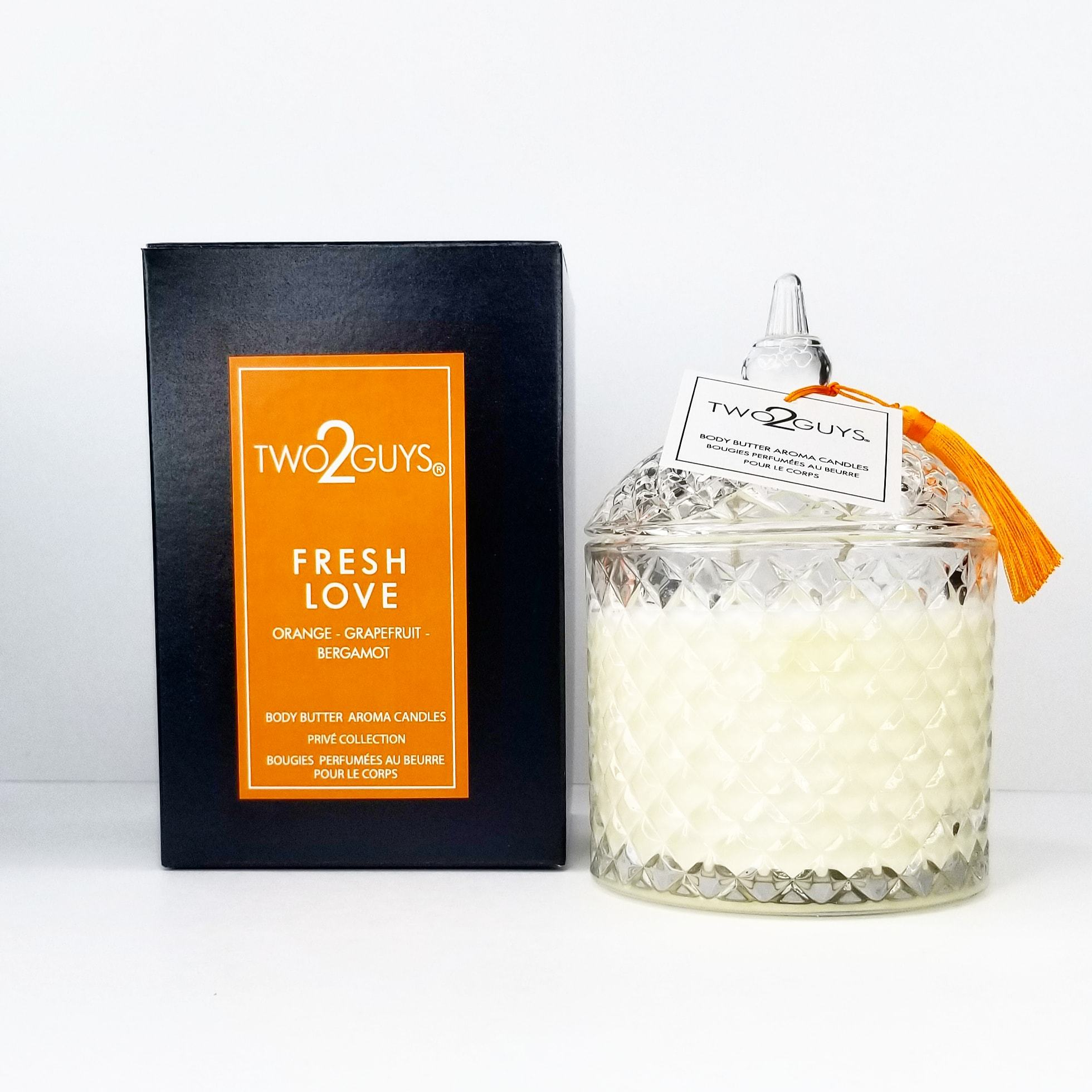 FRESH LOVE Vegan Candle
