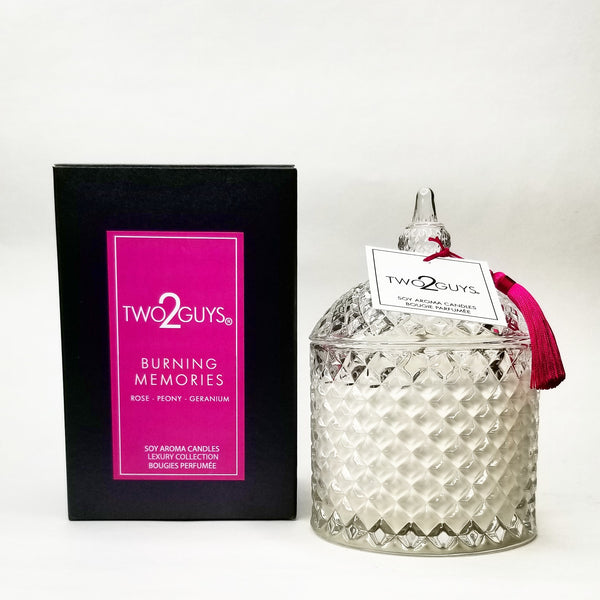 BURNING MEMORIES  CANDLE 12 OZ.