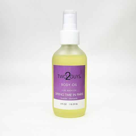 SPRINGTIME IN PARIS BODY OIL  4 OZ