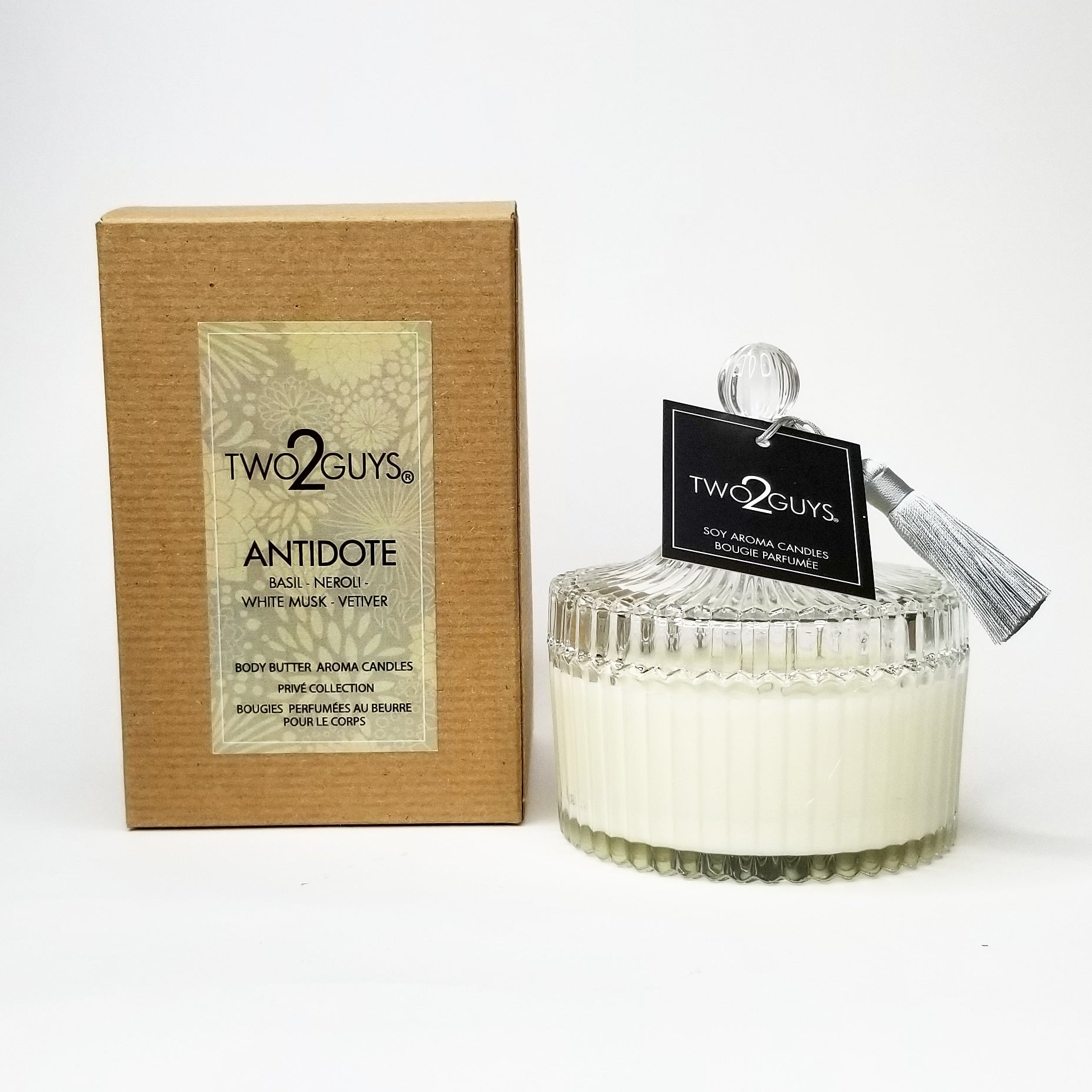 Vegan candle Antidote