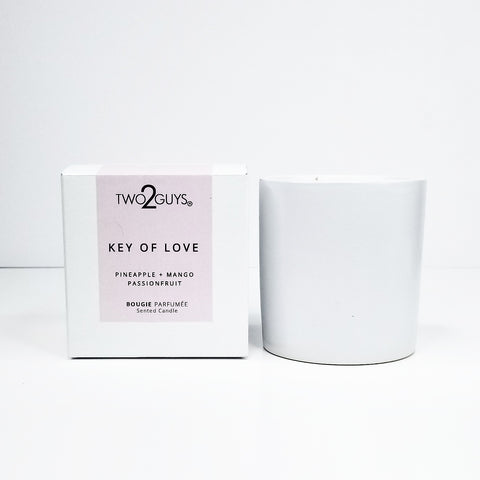 KEY OF LOVE Ceramic Candle