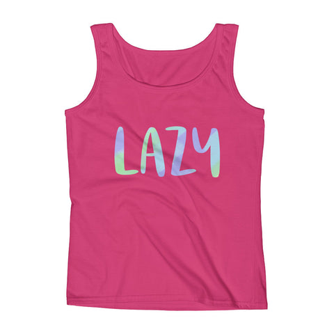 Lazy Tank in Pink