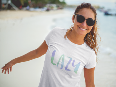 Lazy T-Shirt in Navy